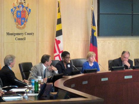 The Montgomery County Council adopted a 2012 budget that cut $25 million from the school budget May 19.