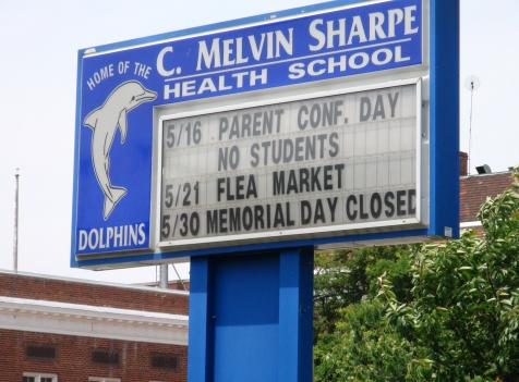 C. Melvin Sharpe Health School serves some of the District's most developmentally challenged students.