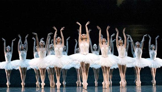 "The Ballet Nacional de Cuba performs ""Swan Lake."""