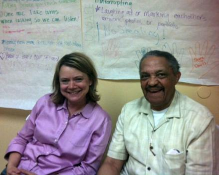 Stacey Erd (left) is the executive director of the Beacon House, and Rev. Donald Robinson is its founder. Their funding for summer programs has been cut by 40 percent.