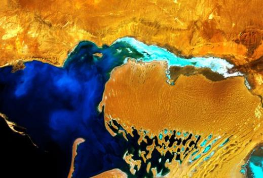 Earth as Art brings extraordinary satellite images of our planet to the Library of Congress for the next year.