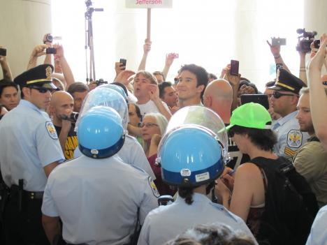 Protesters turned Jefferson Memorial into a dance hall on June 4 after Park Police arrested dancers at a previous protest.