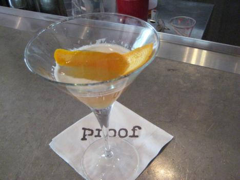 When asked to create a cocktail representing D.C., Proof's Adam Bernbach drew on Ethiopian flavors for inspiration.