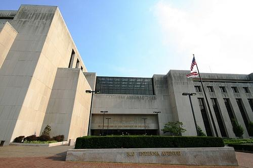 Senior Judge Stephen Milliken had his iPhone stolen on his way to work here, at the D.C. Courthouse.