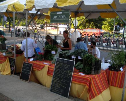 Arcadia Food works to expand access to locally grown produce by selling the fruits and vegetables at farmers markets and running educational programs.