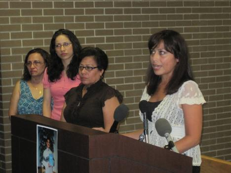 The family of Jaime Romero, who was last seen April 2.