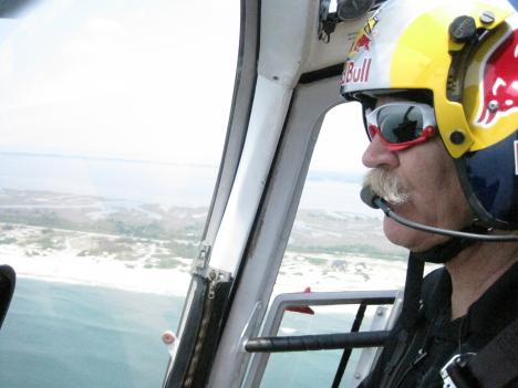"""Malibu"" Chuck Aaron will perform stunts with a helicopter in the Ocean City Air Show."