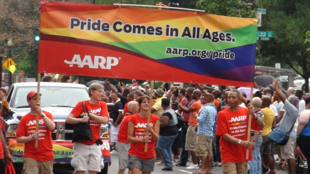 Over 80 organizations and hundreds of participants marched in this year's Capital Pride parade.