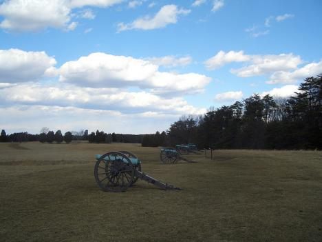 The Manassas battlefield in Virginia. Va. Sen. Jim Webb is pushing for more funding to preserve U.S. Civil War sites.