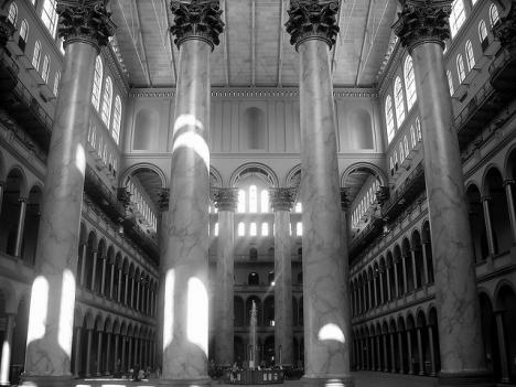 The Great Hall of the National Building Museum will still be open free to the public, but not much else will.