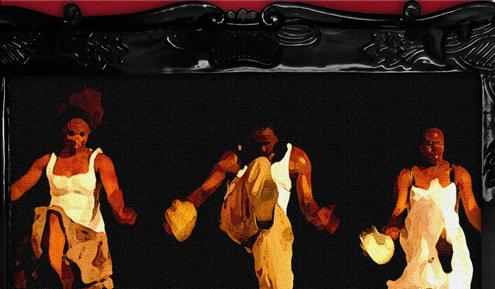 Step Afrika retraces the migration of African Americans from the South to the North with drums, dance, voice and jazz.