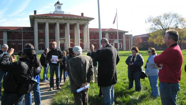 The D.C. Preservation League offers walking tours of St. Elizabeths' historic west campus, which is owned by the federal government.