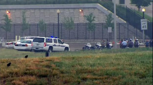 Authorities are investigating a suspicious vehicle near the Pentagon this morning.