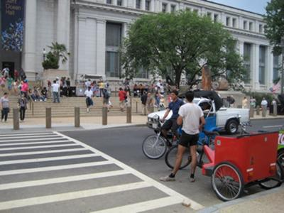 The D.C. government rolled out pedicab regulations July 20 amidst rising tensions between pedicab operators and the U.S. Park Police.