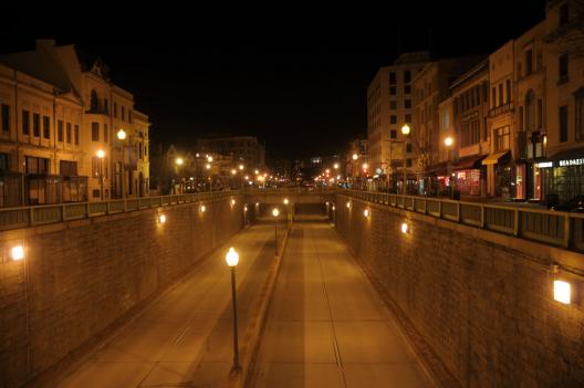 Jim Dougherty, conservation committee chair for the D.C. Sierra Club, considers the tunnel at Dupont Circle to be an example of excessive or wasted lighting.
