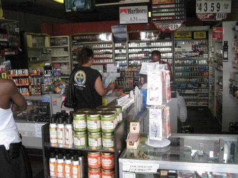 The manager at this discount tobacco shop in Alexandria says business has been good in recent years, and she doesn't expect new cigarette labels to change that.