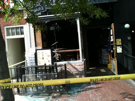 The scene of the Tune Inn kitchen fire that struck early in the morning on June 22.