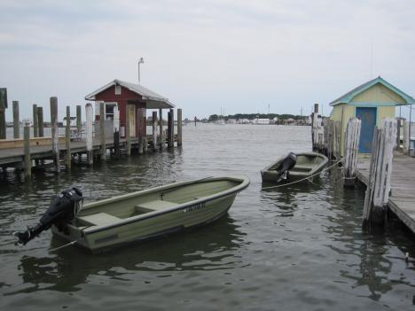 Tangier Island is accessible by ferry or small plane.