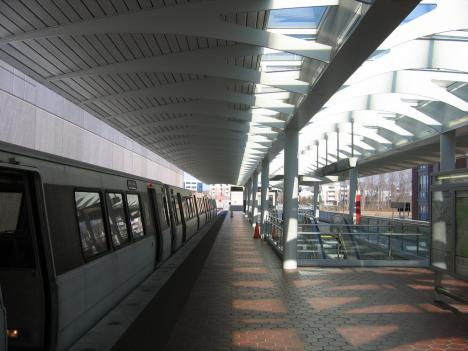 Largo Town Center is one of the 10 Metro stations with the highest crime rate.