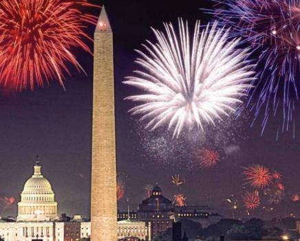 A Capital Fourth brings music, fireworks and a couple hundred thousand fellow Americans to the National Mall Monday.