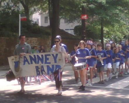 The Palisades Parade features dancers, drummers, horses, homemade floats, local politicians and awards.