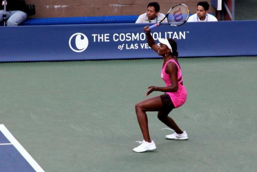 Washington Kastles open their 2011 season with Venus Williams on July 5, seen here at the 2010 US Open.