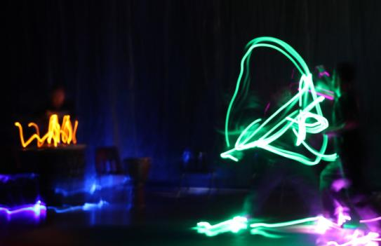 Capital Fringe Festival includes things like martial arts with glow sticks.