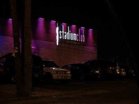 The Stadium Club in Northeast D.C. is operating in a building that was previously renovated by the HIV/AIDS nonprofit Miracle Hands, according to a lawsuit filed by the D.C. attorney general.