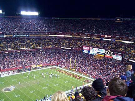 The Washington Redskins plans to install solar panels this September at FedExField in Landover Maryland.