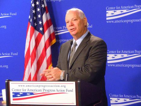 Sen. Ben Cardin was one of the proponents of provision 1504 in the Wall Street Reform bill, which calls for oil and mining companies listed on the U.S. stock exchange to disclose payments made to host nations for the exploration and extraction of oil, gas, and minerals.