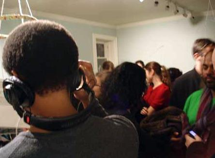 The DC Listening Lounge presents all sorts of sounds at the Goethe-Institut Saturday.