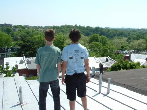 Diego Arene-Morley and Walter Lynn have been promoting solar power in Mount Pleasant since they were 12 years old. They are about to start their senior year in high school.