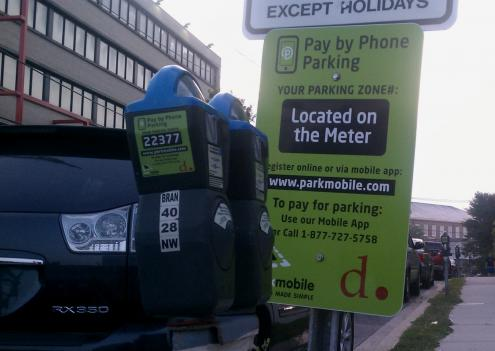 D.C. recently added a pay-by-phone option to all of the District's 17,000 parking meters.