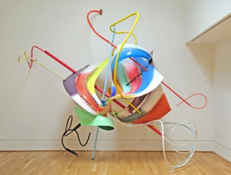 Frank Stella's Scarlatti-inspired sculptures are showing at the Phillips Collection.