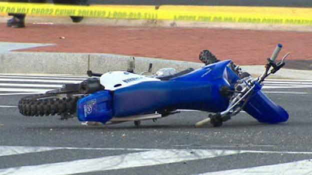 Authorities are investigating a fatal accident at Florida Avenue NW and New York Avenue NW this morning involving a motorcycle and a tractor trailer.