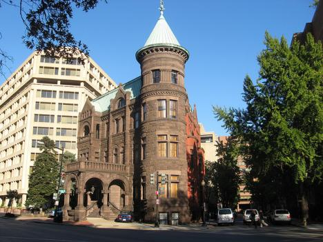 The Heurich House is the first fireproof residence in Washington, D.C.