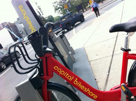 DDOT is giving away 500 helmets to Capital Bikeshare users to encourage more riders to bike safely in the city.