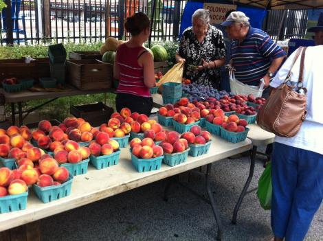Farmers market advocates are calling on Congress to continue funding for grants such as the Farmers Market Promotion Program. The program has supported efforts to bring food stamps to area markets, including Crossroads in Takoma Park, Maryland.