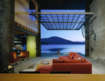 You can chat with architect Tom Kundig about his Chicken Point Cabin at the National Building Museum in D.C. Thursday night at 7.