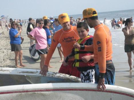 Surfers Healing brings families living with autism and pro-surfers from all over the world together for a day.