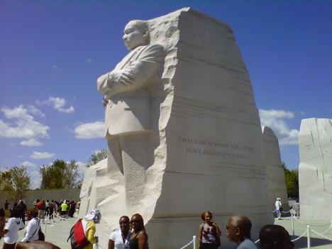 The new Martin Luther King Jr. Memorial opened Aug. 22. Already there is controversy over a Dr. King quote that was paraphrased for space.