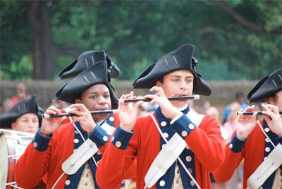 A new program at Colonial Williamsburg uses texts and iPhones to involve kids in the history of the American Revolution.
