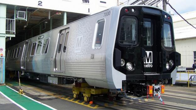The 7000-series railcar will be put into service in 2014.