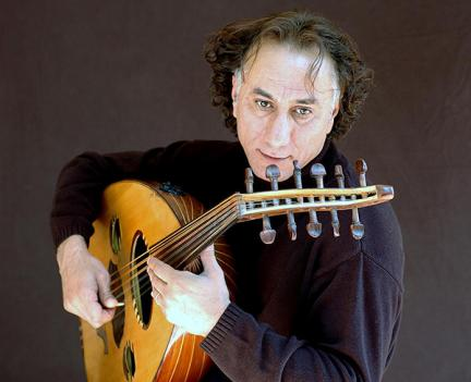 Rahim AlHaj brings his oud and his orchestra to the Kennedy Center Monday night.