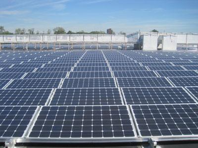 The University of Maryland College Park unveiled a solar array Wednesday containing 2,600 individual solar panels.