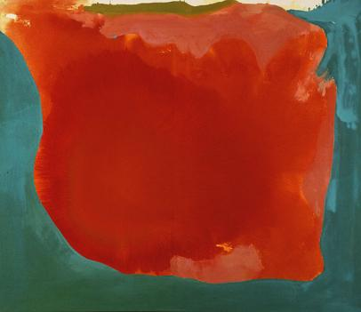 "The Phillips family picked up such works as Helen Frankenthaler's ""Canyon"" on their many trips around the world."