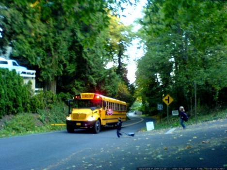 A five-year-old boy from Alexandria was mistakenly put on a bus at his school last week and dropped off at an unfamiliar stop nearly a mile from home and left alone.