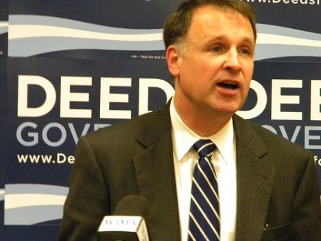 With just three weeks left until election day in Virginia, gubernatorial candidate Creigh Deeds is keeping up his attacks on Bob McDonnell.