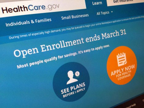Monday is the last day for for people to get health coverage on HealthCare.gov and state exchanges.