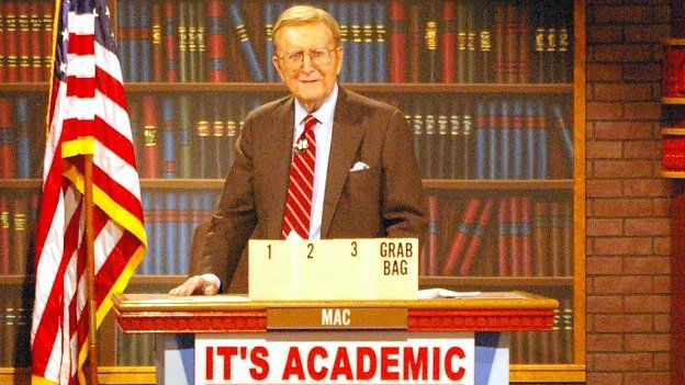 McGarry hosted the Saturday morning quiz show for high school students from 1961 to 2011.